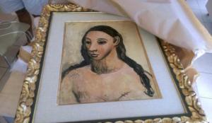 Picasso - Cabeza de mujer joven