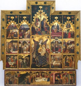 Retablo dela Virgen, Monasterio Sigena