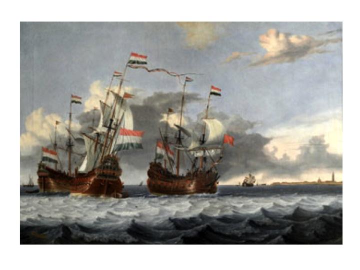 Schilderij, Gerrit Pompe, Gezicht op Enkhuizen. Stolen from Westfries Museum in 2005. http://www.westfriesmuseum.info/stolen-art/